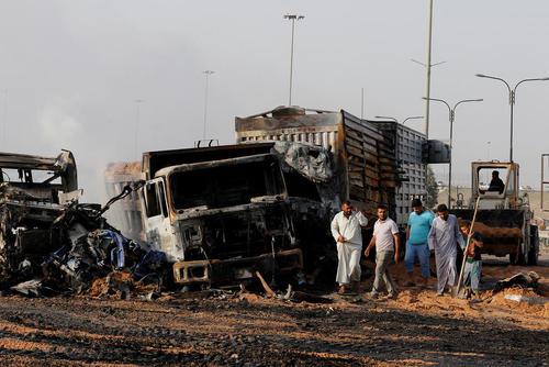 انفجار کامیون بمبگذاری شده در شمال بغداد