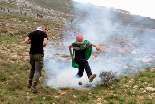 تظاهرات ضد اسراییلی در
