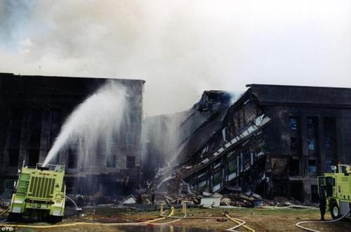 انتشار تصاویر حمله تروریستی 11 سپتامبر به مقر وزارت دفاع آمریکا پس از گذشت 16 سال