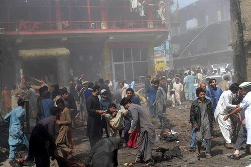 حمله تروریستی به شهر پاراچنار پاکستان