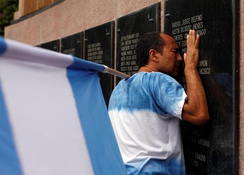 سی و پنجمین سالگرد جنگ فالکلند بین آرژانتین و بریتانیا – بوینوس آیرس