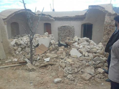 خسارت زلزله 6 ریشتری خراسان رضوی