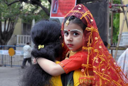 جشنواره آیینی ناوراتری – کلکته هند