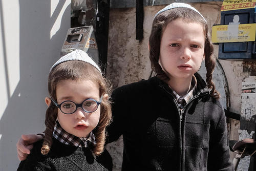 تدارکات عید فصح میان یهودیان ارتدوکس در شهر قدس