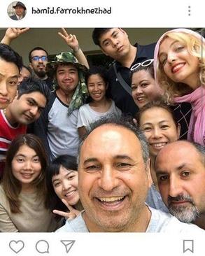یک هفته پیش از آن (15 مارس) حمید فرخنژاد نیز با انتشار عکسی در صفحه اینستاگرامش از حضور در تایلند همراه با گروه فیلمبرداری خبر داد.