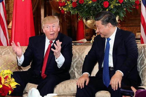 دیدار رهبران آمریکا و چین در تفرجگاه دونالد ترامپ در فلوریدا