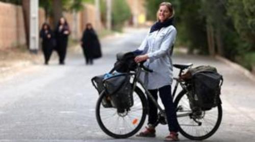 تصاویر سفر ربکا لو به ایران