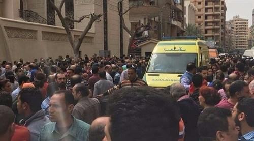 انفجار در کلیسای شهر طنطا - مصر