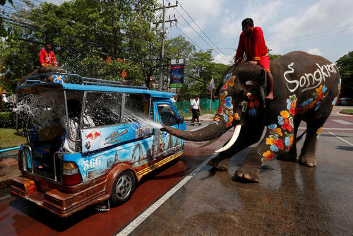 جشنواره آب در تایلند / بانکوک