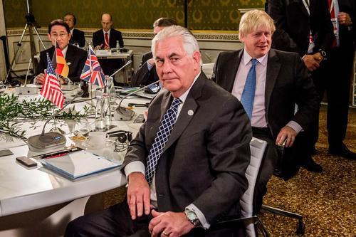 نشست وزرای امور خارجه گروه هفت کشور صنعتی جهان در ایتالیا