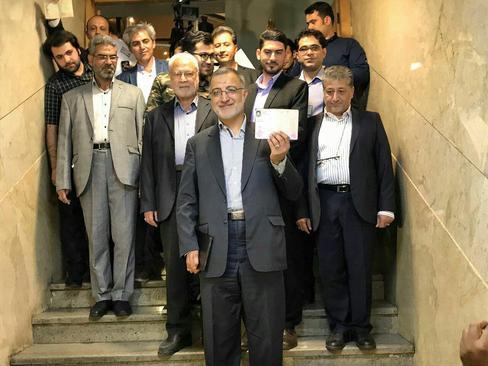 «علیرضا زاکانی» به عنوان كانديداي جمنا در انتخابات ریاستجمهوری ثبتنام کرد.