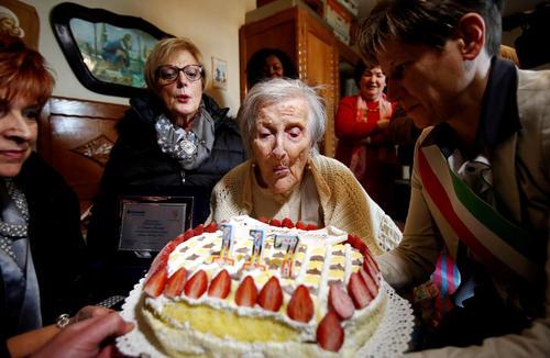 جشن تولد 117 سالگی