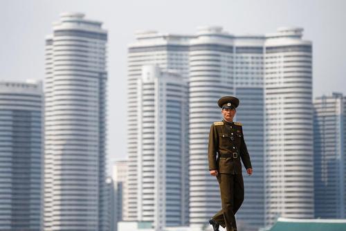نمایی از شهر پیونگ یانگ کره شمالی