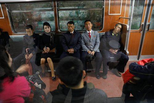 مسافرت با قطار – ایستگاه شهر پیونگ یانگ کره شمالی