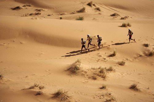 مسابقات بین المللی ماراتون صحرایی در مراکش