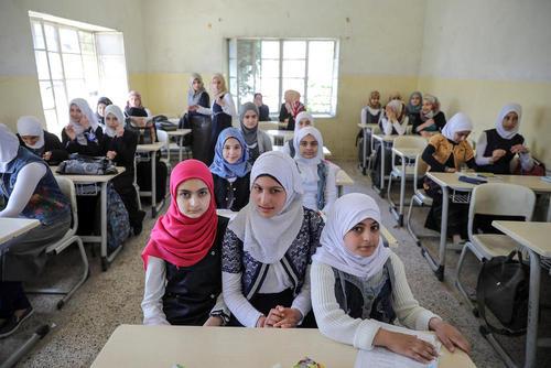 بازگشایی مدارس در مناطق شرقی شهر موصل عراق