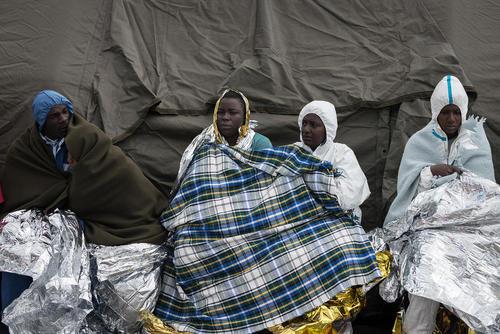 رسیدن 400 پناهجوی آفریقایی به ایتالیا