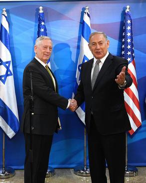 نخست وزیر اسراییل در دیدار با وزیر دفاع آمریکا – قدس