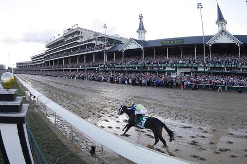 مسابقات اسب سواری در شهر لوییزویل ایالت کنتاکی آمریکا
