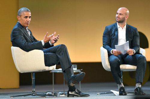 باراک اوباما در کنفرانس جهانی امنیت غذایی و تغییرات اقلیمی در میلان ایتالیا