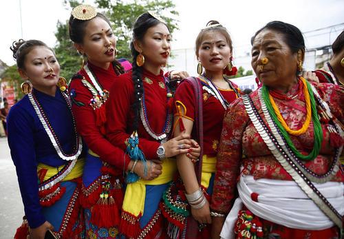 جشنواره آیینی اوبهالی در نپال