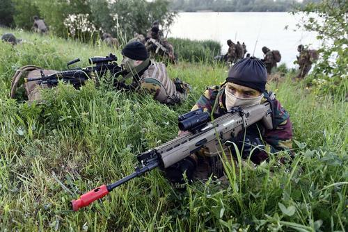 رزمایش مشترک نیروهای بلژیک و هلند – بلژیک