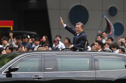 مراسم تحلیف رییس جمهور جدید کره جنوبی – سئول