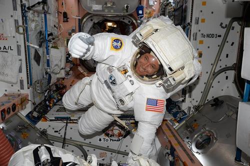 جک فیشر فضانورد ناسا در ایستگاه فضایی بین المللی