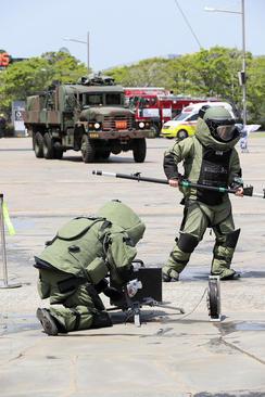مانور ضد تروریستی – کره جنوبی