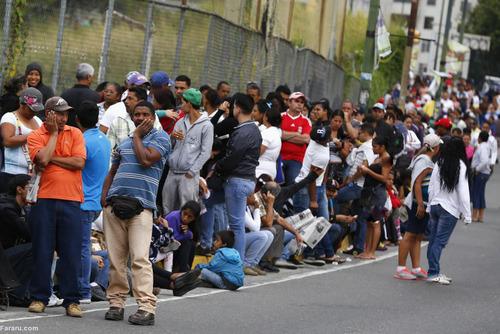 صف خرید نیازهای ضروری در ونزوئلا