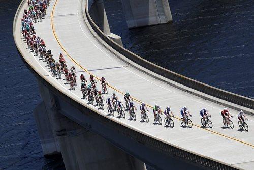 مسابقات تور سراسری دوچرخه سواری در ایالت کالیفرنیا آمریکا