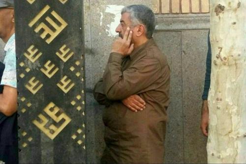 سرلشکر جعفری فرمانده کل سپاه  در نخستین ساعات اخذ رای، در مسجد قبای تهران رای خود را به صندوق انداخت.