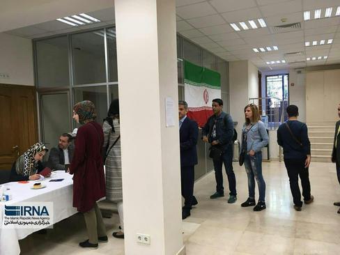 رای گیری ازایرانیان مقیم کی یف پایتخت اوکراین