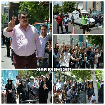 حضور اقشار مختلف مردم برای شرکت در انتخابات/ عصر ایران