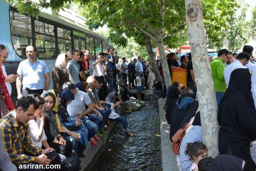 صف رای - حسینیه ارشاد. تهران