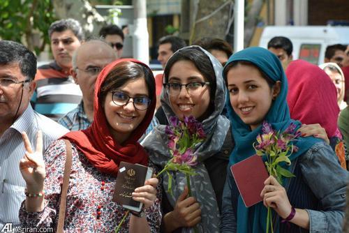 حضور رای اولی ها در انتخابات ریاست جمهوری/ تهران