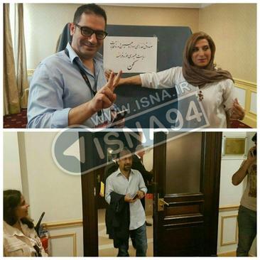 اصغر فرهادی، فاطمه معتمد آریا و سینمایی ها در کن رای دادند