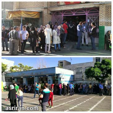 صف رای در دبستان استاد شهریار تهرانپارس/ عصر ایران