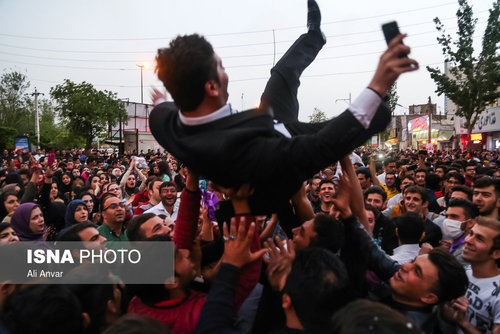 شادی مردم اردبیل