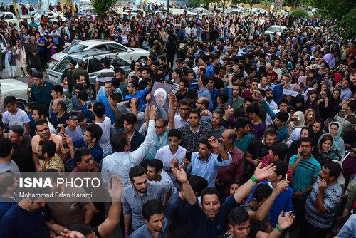شادی مردم مشهد