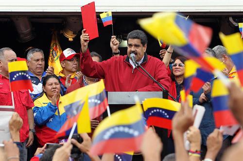 فرمان اجرایی نیکولاس مادورو رییس جمهور ونزوئلا برای تغییر قانون اساسی ونزوئلا – کاراکاس