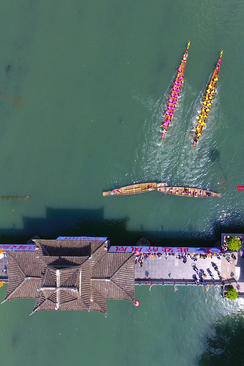 مسابقات سالانه قایقرانی – چین