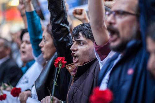 تظاهرات در چهارمین سالگرد آغاز اعتراضات ضد دولتی در ترکیه علیه تخریب پارک