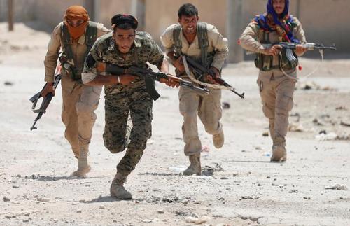 نبرد نیروهای کرد موسوم به