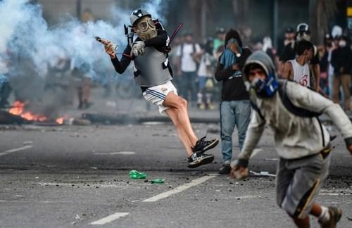 تظاهرات ضد حکومتی در پایتخت ونزوئلا