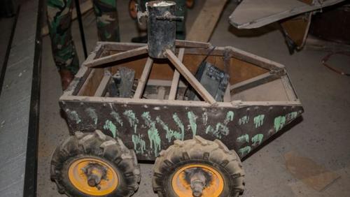کارگاه ساخت بمب داعش