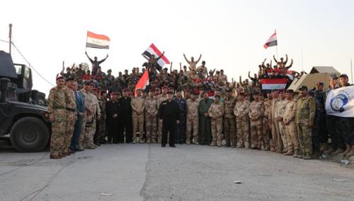 حضور نخست وزیر عراق برای اعلام آزادی موصل در این شهر