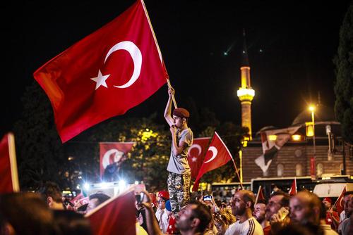 مراسم سالگرد کودتای نافرجام 15 ژوئیه در ترکیه – استانبول
