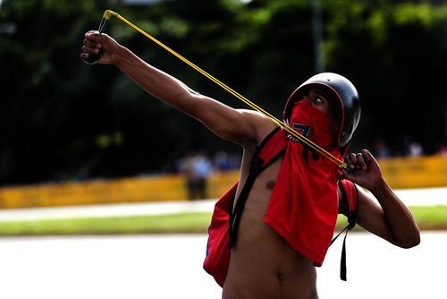 ادامه اعتراضات ضد حکومتی در پایتخت ونزوئلا