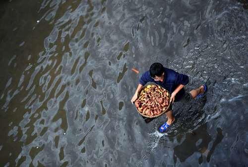 سیل در کومینگ چین